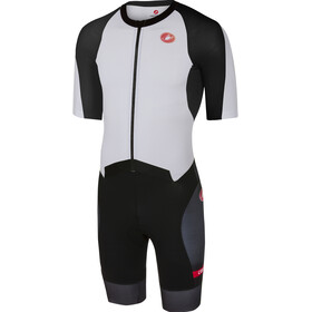 Castelli All Out Speed Suit Men white/black